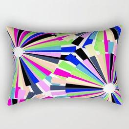 MULTI COLOURED WHEELS Rectangular Pillow