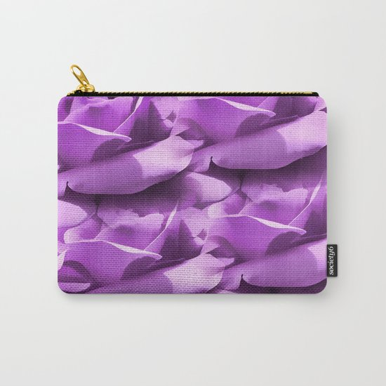 Lavender Petals Abstract Carry-All Pouch