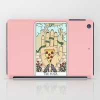 reading iPad Cases featuring PIZZA READING by Sagepizza