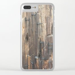 Post. Fashion Textures Clear iPhone Case