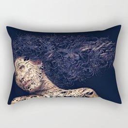 The Lines of a girl. Rectangular Pillow