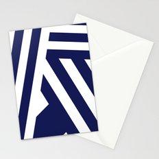 Nautical Stripes Stationery Cards