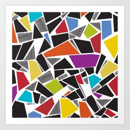 Carnivale Mosaics Art Print