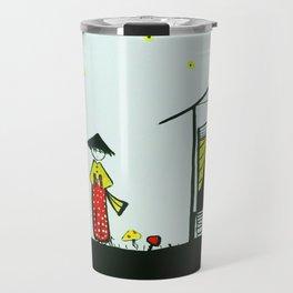 japanese girl Travel Mug
