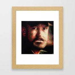 Supernatural: Bobby Singer Framed Art Print