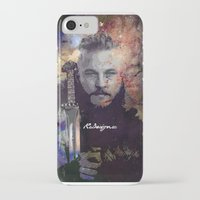 vikings iPhone & iPod Cases featuring Ragnar in the Stars - Vikings by RsDesigns