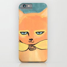 Orange Cat iPhone 6s Slim Case