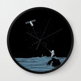 Satellite Kite Wall Clock