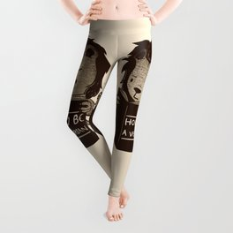 Lion Book How To Be Vegetarian Leggings
