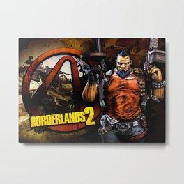Borderlands Video Game Metal Print