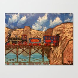 Jupiter Choo Choo Canvas Print