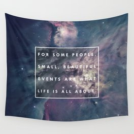 What Life Is All About - Doctor Who Wall Tapestry