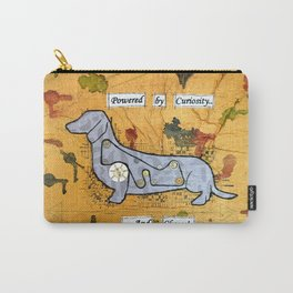 Dachshund - Powered by curiosity Carry-All Pouch
