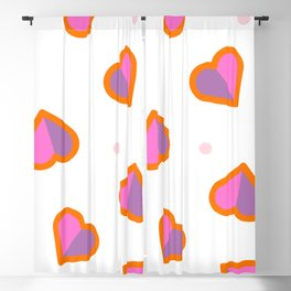 Hearts Blackout Curtain