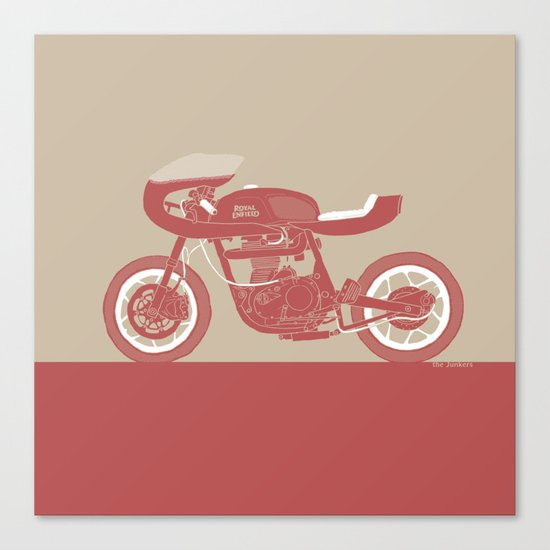 royal enfield special Canvas Print