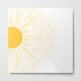 You're My SunShine Metal Print