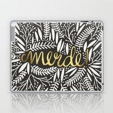 Pardon My French – Gold on Black Laptop & iPad Skin