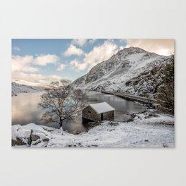 A Cold Start Canvas Print