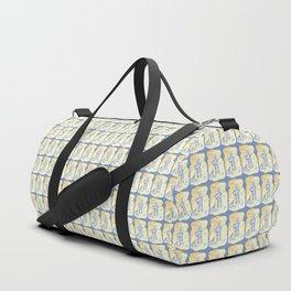 Blue Robot Duffle Bag