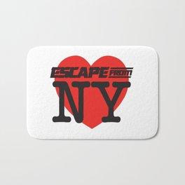 Love Escape From NY Bath Mat