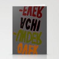 u2 Stationery Cards featuring o-u2 by gasponce