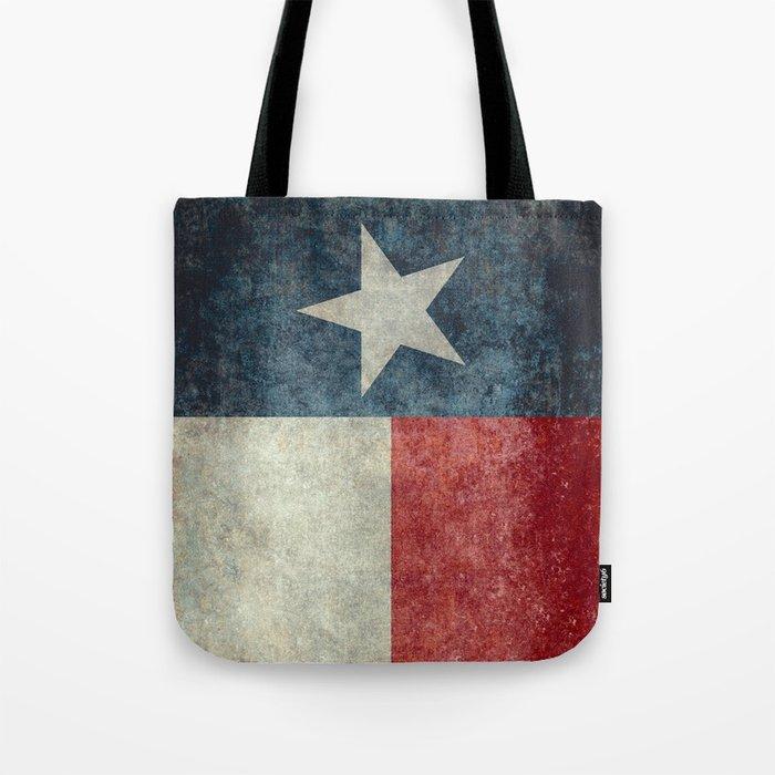 Texas state flag, Vintage banner version Tote Bag