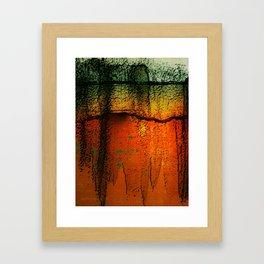 Burnt Caramel Framed Art Print