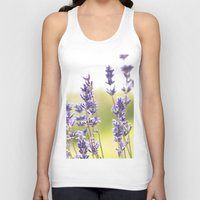 lavender Tank Tops featuring lavender  by world pictured