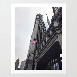 Wrigley Bulding Chicago Art Print