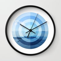 oslo Wall Clocks featuring OSLO by Hana Savana