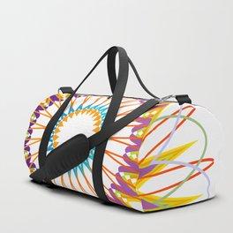 Geometric Mandala representing cosmos Duffle Bag
