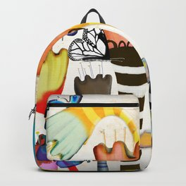 Get up, stand up - Rupydetquila Sunset Butterfies Backpack