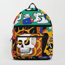 Try to laugh about it Backpack