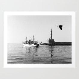 Mediterranean Journey Art Print