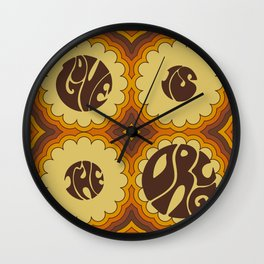 LOVE IS THE DRUG Wall Clock
