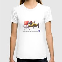 diver T-shirts featuring Diver by Uri Tuchman