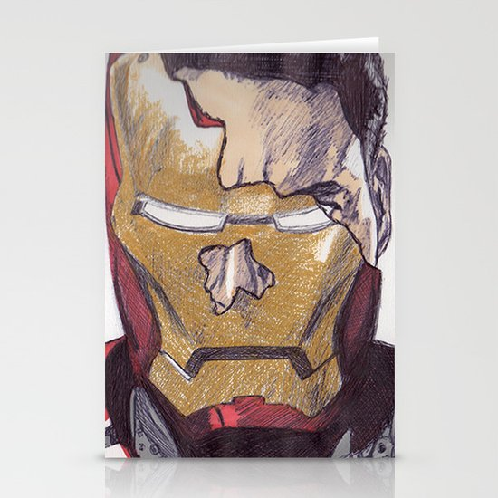 Iron Mann Stationery Cards