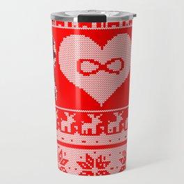 Clexa Christmas Travel Mug