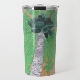 Papaya Tree Travel Mug