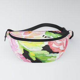 flora series xv in contrast Fanny Pack