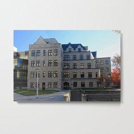University of Toledo- Stranahan Hall II Metal Print
