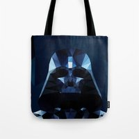 darth Tote Bags featuring Darth by Ed Burczyk