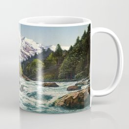 Mountains Forest Rocky River Coffee Mug