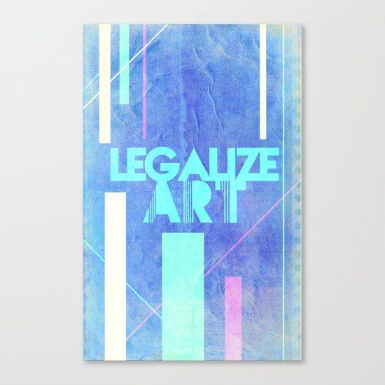 Legalize Art. Canvas Print