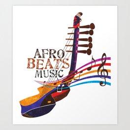 AFRO BEATZ Art Print