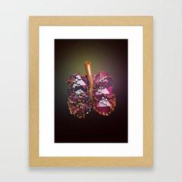Lungs Framed Art Print