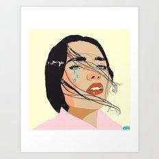 Rad n Sad Art Print