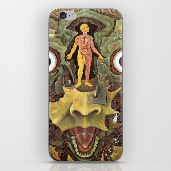 Journey of The Wounded Healer  iPhone & iPod Skin
