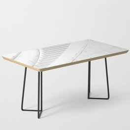 Stairway Illustration Coffee Table