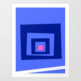 Minimalist Abstract 1.0 Art Print